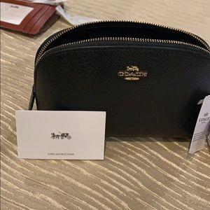 Coach Bags - Coach makeup bag black authentic coach.